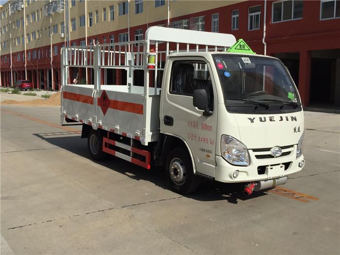 跃进小福星3.5米气瓶运输车