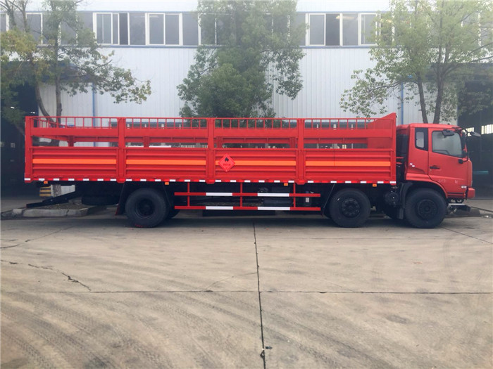 东风9.6米气瓶运输车