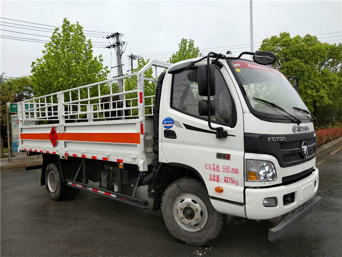 福田5.1米气瓶运输车