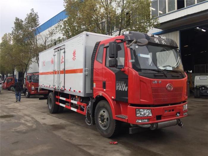 解放10吨民爆运输车