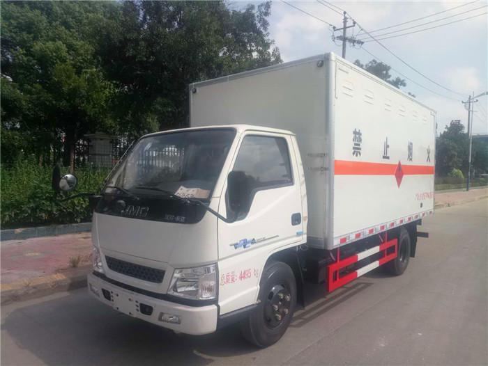 江铃3吨民爆运输车
