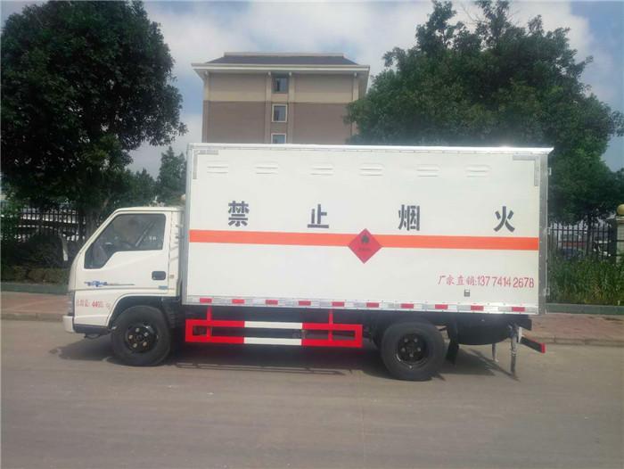 江铃4.2米民爆运输车
