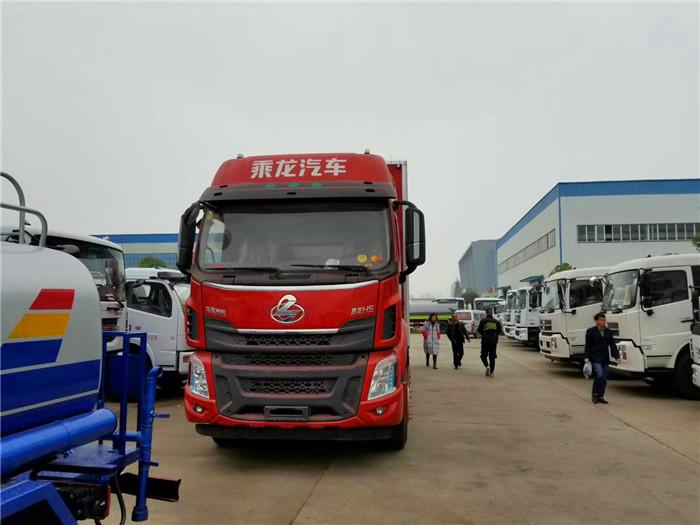 柳汽9.6米10吨民爆运输车