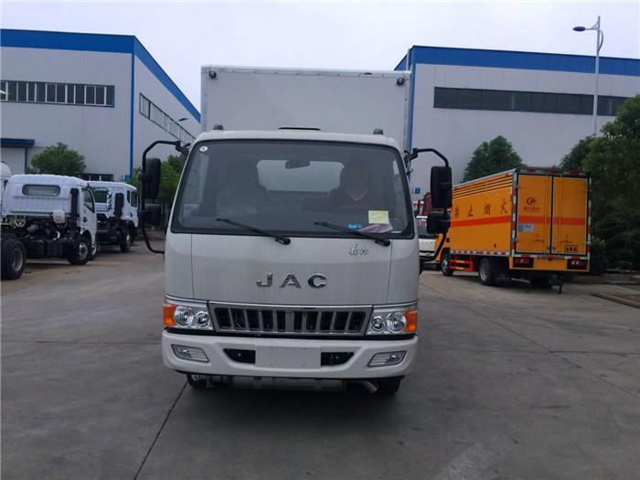 江淮4.2米危险品废弃物箱式运输车