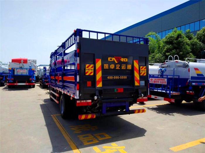 东风多利卡气瓶运输车图片