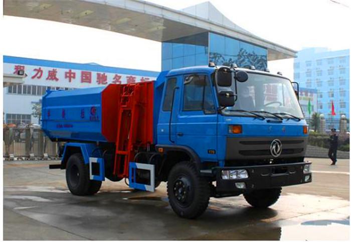 国五东风145压缩式垃圾车