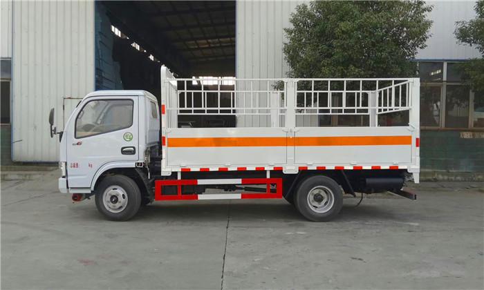 东风4米2高栏气瓶运输车