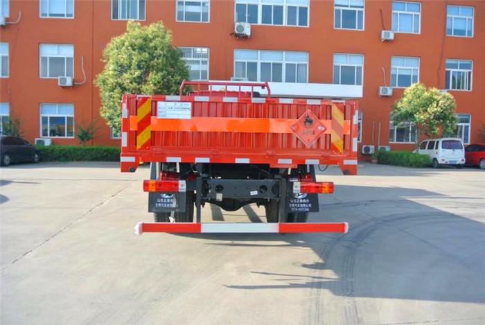 9米6解放高栏气瓶运输车