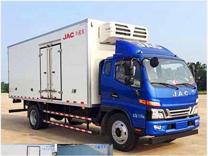 江淮骏铃一排半6.2米冷藏车1