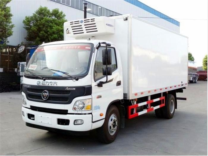 福田欧马可5.1米冷藏车1