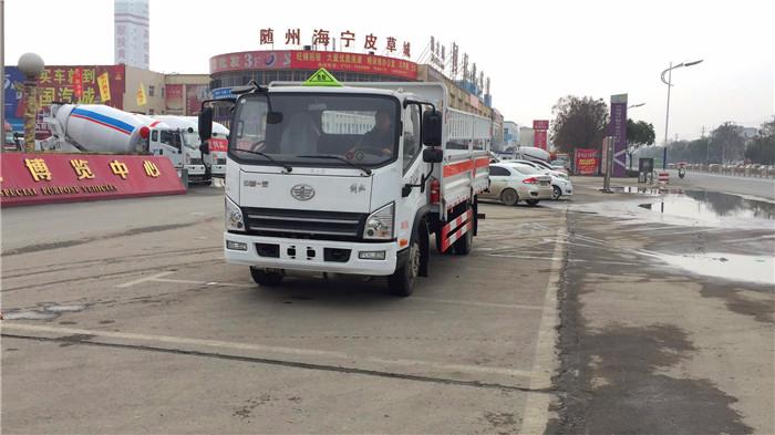 国六5米1解放气瓶运输车价格