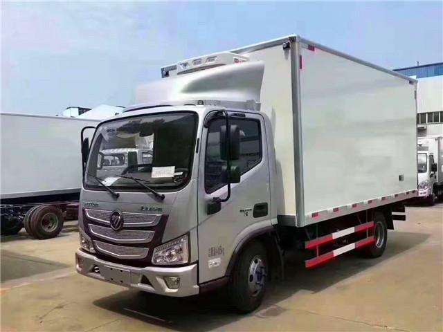 国六4米蓝牌福田欧马可S3冷藏车