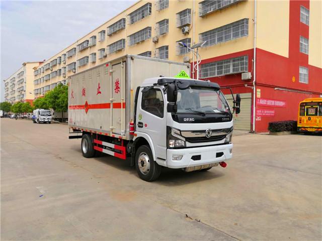 国六6.8吨东风多利卡民爆运输车