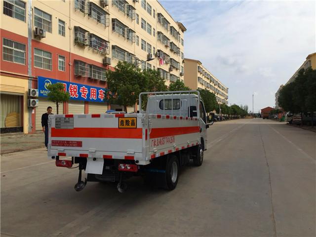 国六小型3米3跃进小福星仓栏式气瓶运输车
