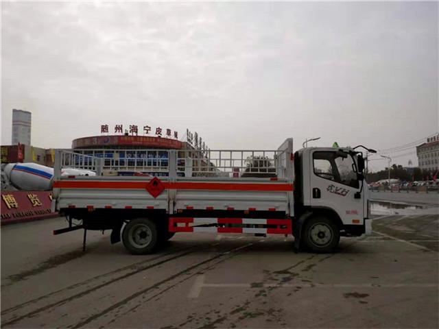 7吨高栏式气瓶运输车