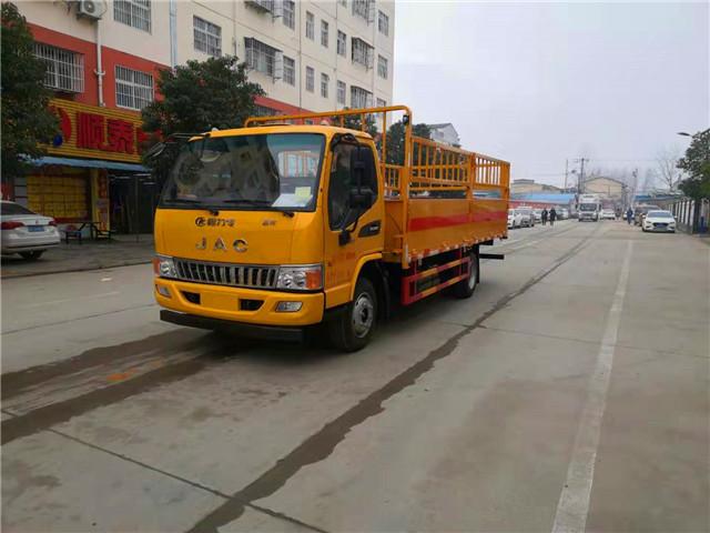 高栏式4.2米气瓶运输车