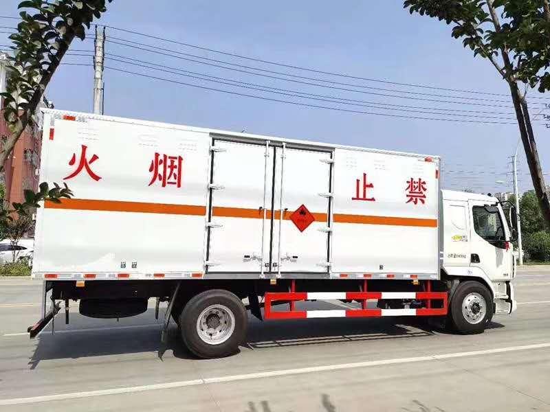 气体厢式运输车李辉