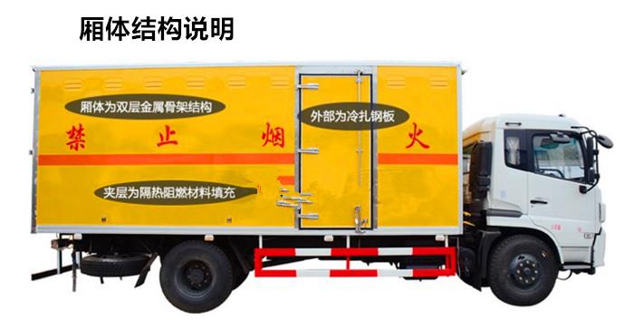 气瓶厢式运输车