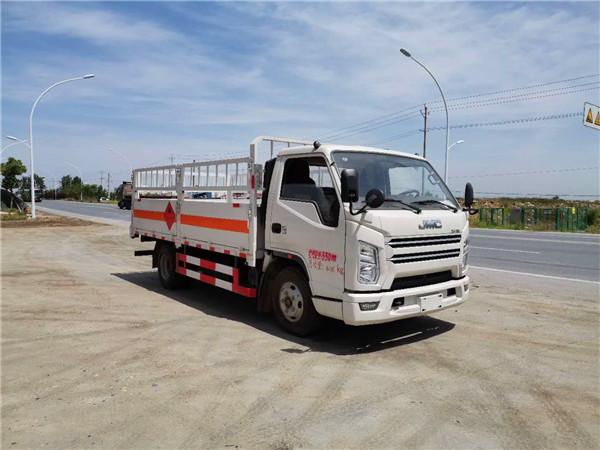 国六江铃高栏气瓶运输车