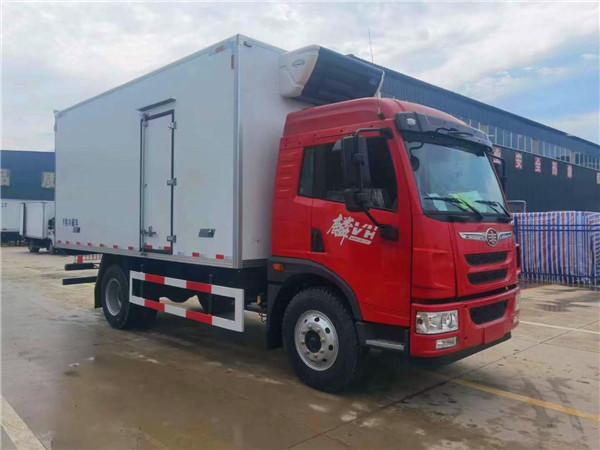 解放麟VH-5.4米冷藏车