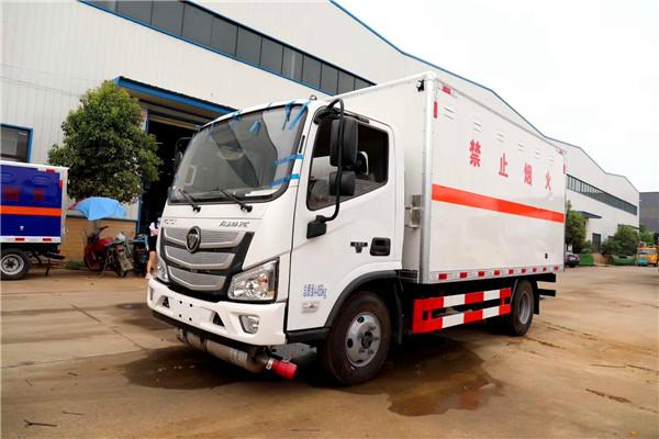 国六福田欧马可5米1杂项运输车