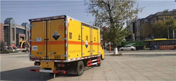 HW49废蓄电池厢式运输车
