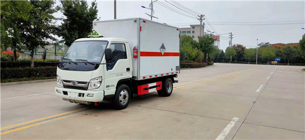 国六福田小卡杂项厢式运输车