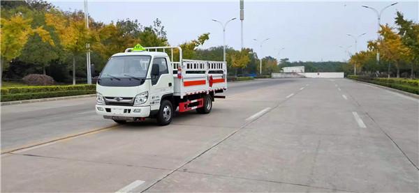 国六福田小卡3气瓶运输车