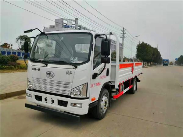 4米2解放气瓶运输车