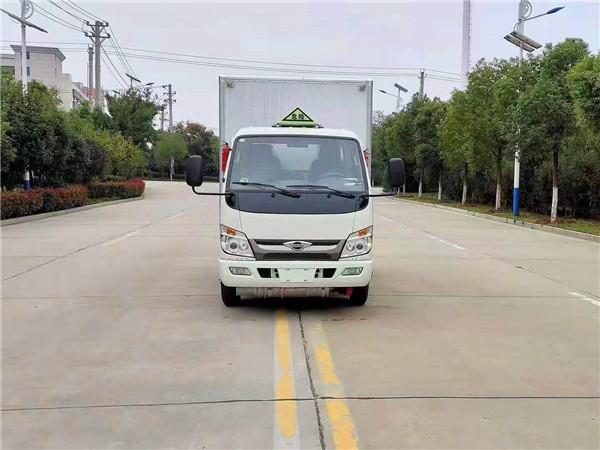 福田时代小卡之星3国六危险品厢式运输车