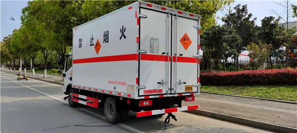 国六4.6吨烟花运输车