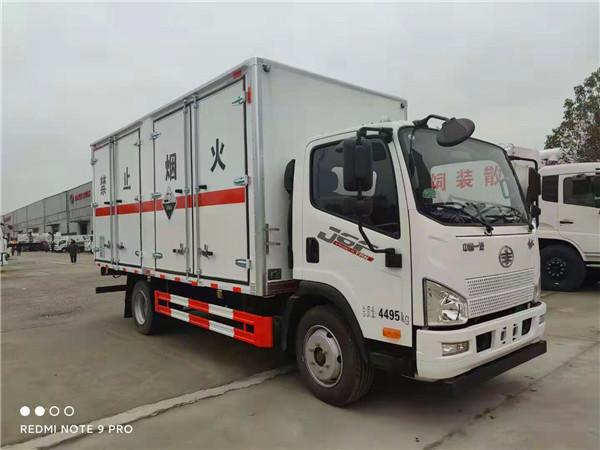 国六解放7吨危险废物运输车