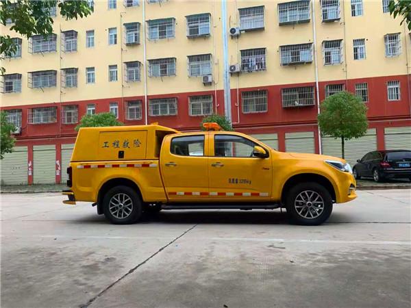 五十铃四驱皮卡防汛抢险车
