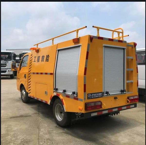 小型东风燃气管网抢险车