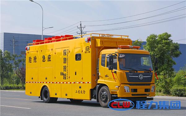 东风天锦大流量排水车